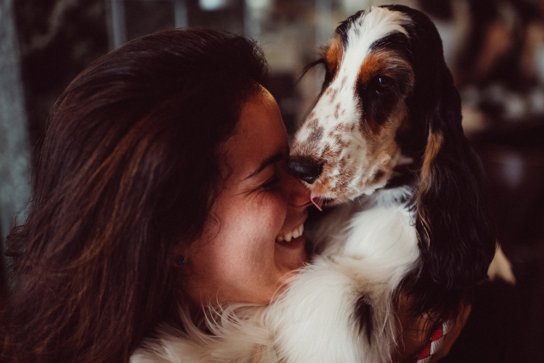 Sposa e cane